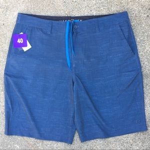 N W T   hang ten   new men's hybrid shorts size 40